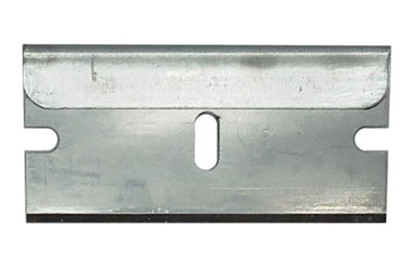 Cuchilla para rascador vidrios retractil 9698387 pack de 10 hojas t10 de 3,9 x 1,9 cm