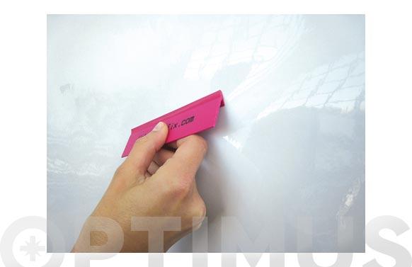 Pizarra pvc mini rollo blanco rotulador 90 cm x 1,5 m
