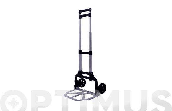 Carretilla plegable aluminio 70 kg 100 x 40 x 39 cm