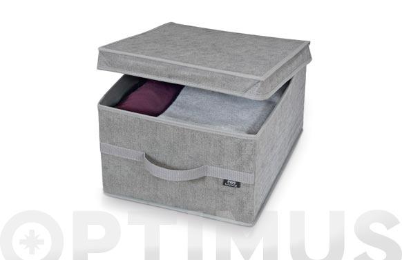Caja guarda ropa stone l 38 x 50 x 24 cm