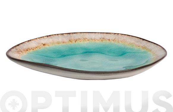 Bol mini stoneware bicolor irregular 15 x 2 cm