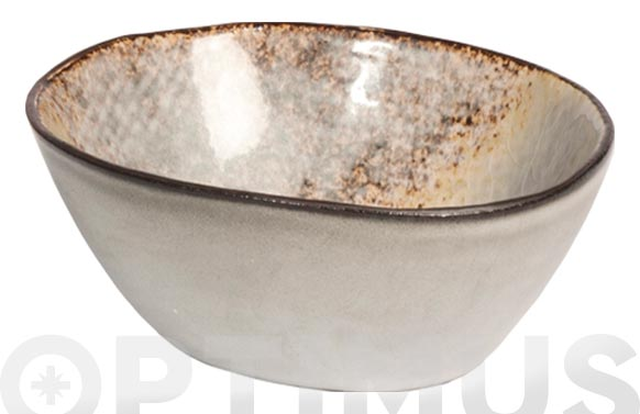 Bol mini stoneware bicolor irregular 10 cm