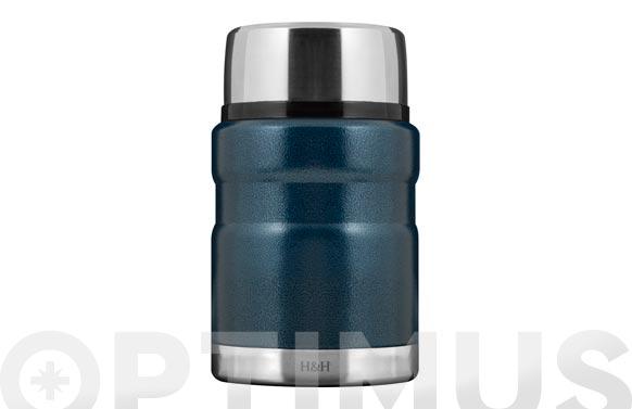 Termo solido inox 18/10 azul 0,5 l