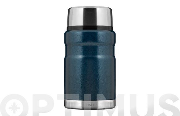 Termo solido inox 18/10 azul 0,7 l
