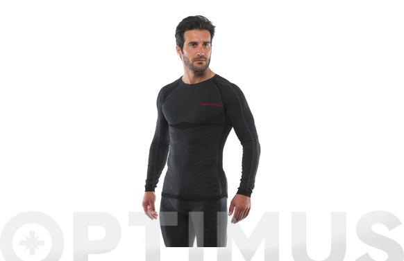 Camiseta termica dry stretch manga larga t. l / xl