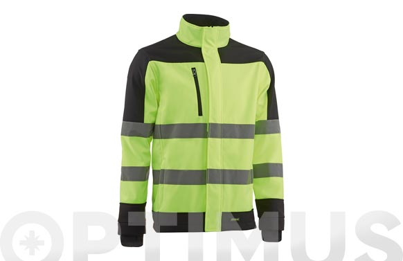 Chaqueta alta visibilidad fragata softshell t xxl amarillo / negro