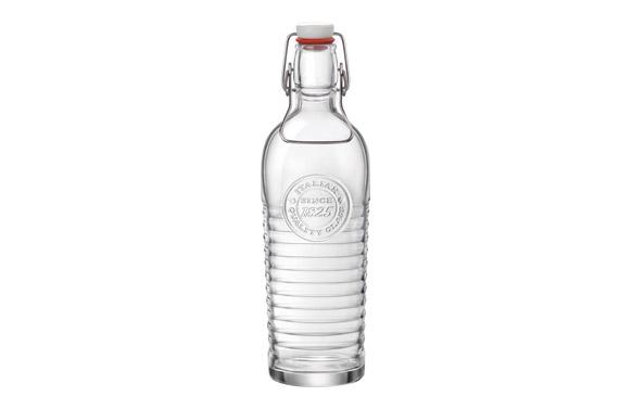 Botella vidrio officina bormioli transparente 1,2 l