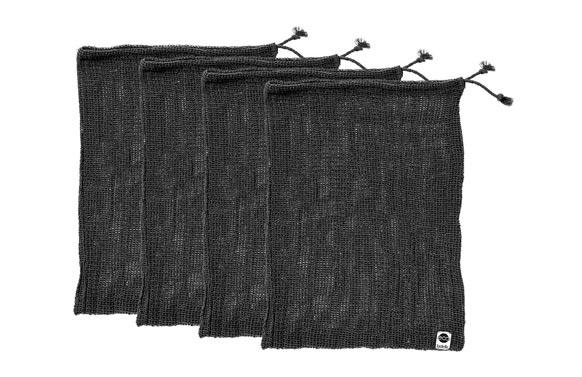 Bolsa verduras algodon eco set 4 u 4x 30x40 cm