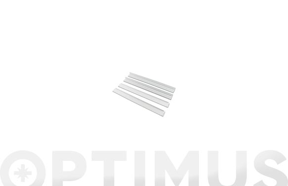Marco aluminio panel led 60 x 60 cm