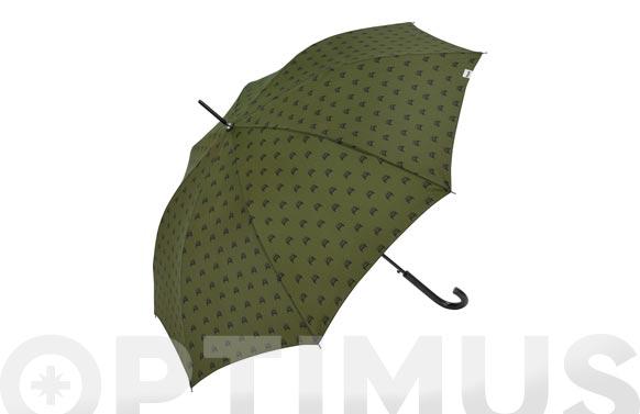 Paraguas plegable señor automatico verde jeep