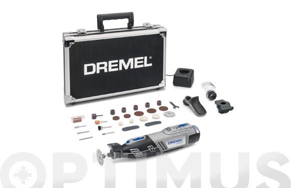 Multiherramienta a bateria 8220um 12 v 2.0 ah + 35 acc. + 3 complementos