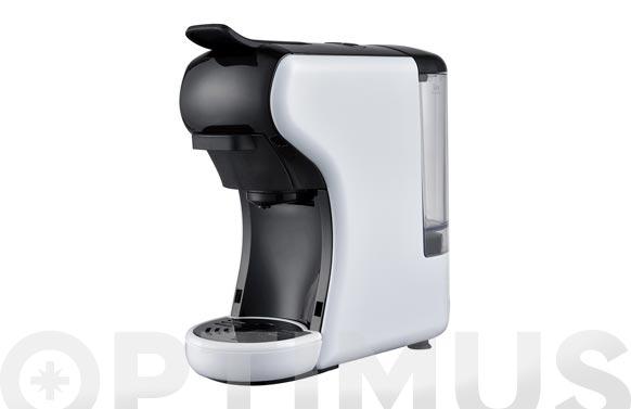 Cafetera capsulas 3 en 1 1500 w blanca
