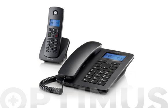 Telefono con cable + terminal inalambrico duo
