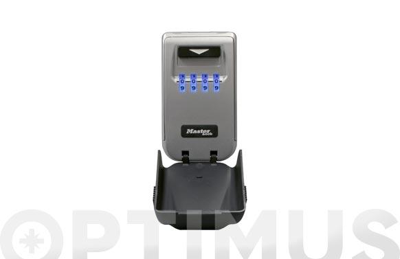 Caja seguridad para llaves retroiluminada combinacion 4 digitos
