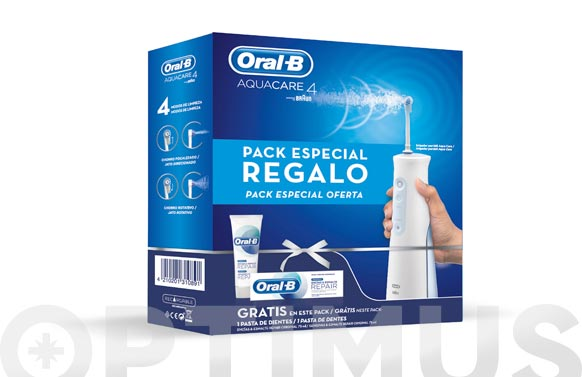 Irrigador pack aquacare +pasta 75 ml