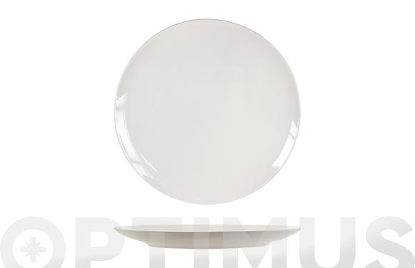 Plato new bone china coupe llano 27 cm
