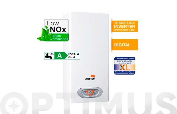 Calentador estanco low nox 12 l/m butano/propano
