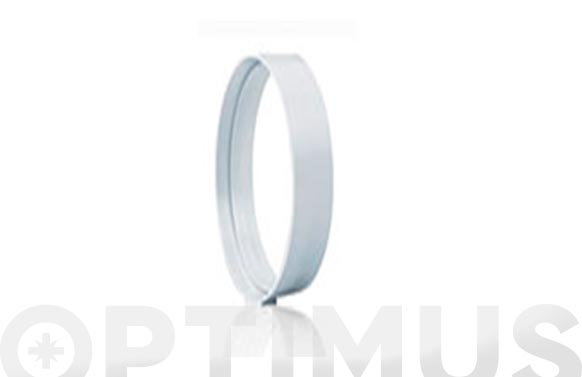 Empalme redondo para tubo extracion pvc ø 100 - 120 mm