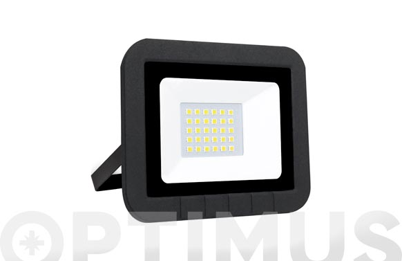 Foco proyector led plano 10w 1000lm fria ip65