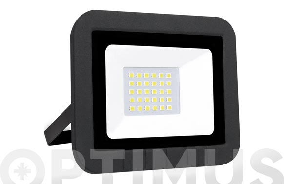 Foco proyector led plano 30w 3000lm fria ip65