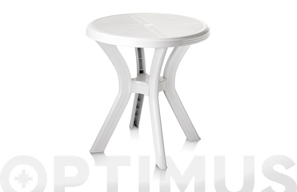 Mesa redonda blanco 60 cm