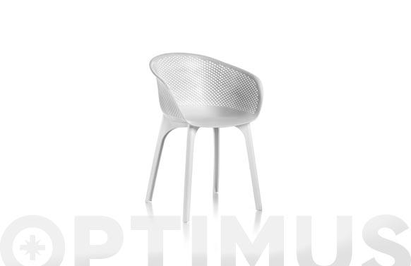 Sillon nora style 86550-blanco