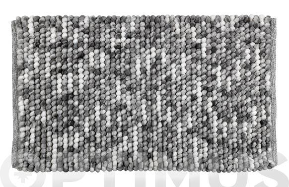 Alfombra baño urdu gris 60 x 90 cm