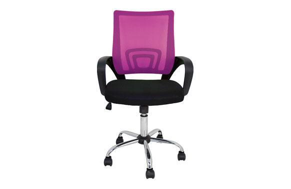 Silla oficina colors rosa