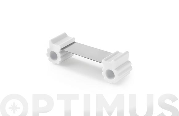 Retenedor de puertas flexible blanco