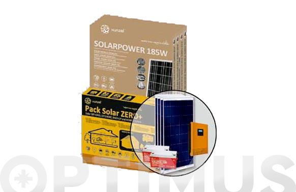Kit solar zero pack zero mas 2400sxixs