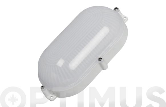 Aplique led oval 810 lm ip65 9 w 4000k