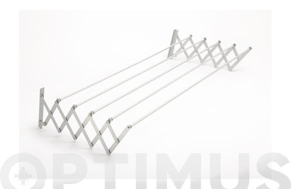Tendedero extensible aluminio 140 cm