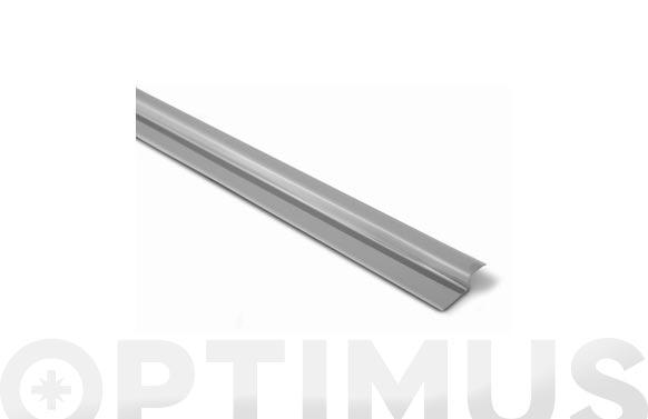 Tapajuntas adhesivo gres inox 44 mm x 82 cm