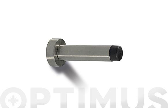 Tope de puerta pared con tornillo inox 85 mm