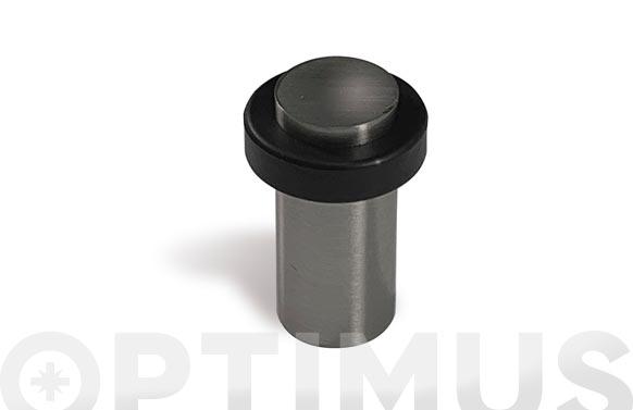 Tope de puerta adhesivo cilindrico ø 30 mm x 7 cm inox