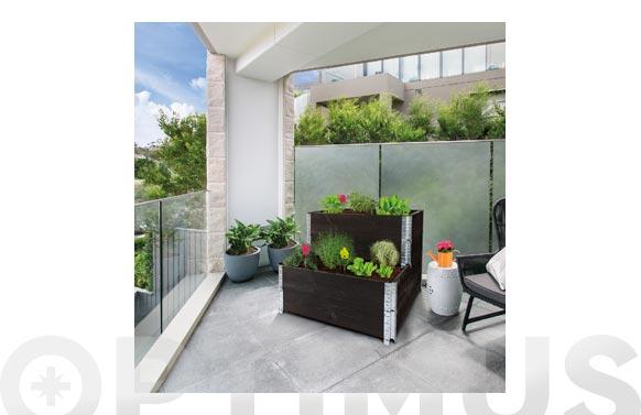Kit huerto urbano modular 60 x 19,5 cm