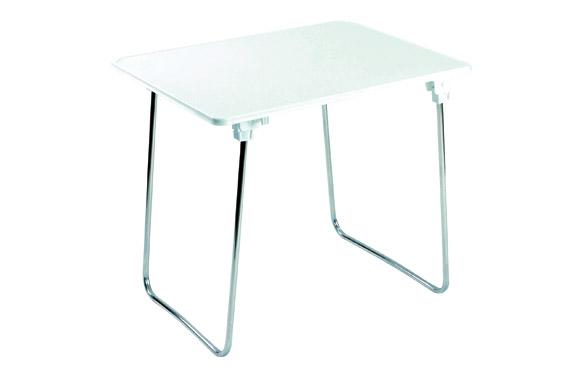 Mesa plegable patas aluminio 80 x 60 cm