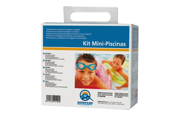 Algicida y cloro kit piscinas pequeñas