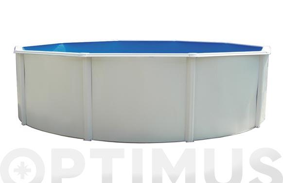Piscina circular con columnas ø 350 x 120 cm sk