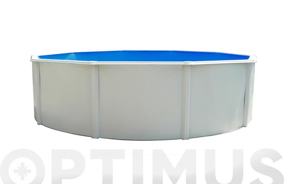 Piscina circular con columnas ø 460 x 120 cm sk
