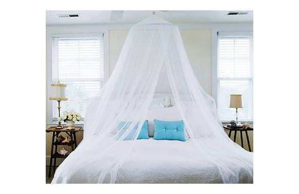 Mosquitera de cama blanca 850 x 220 cm