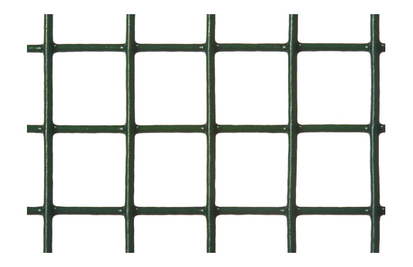 Malla electrosoldada galvanizada 25x25 mm verde 5 x 1 m