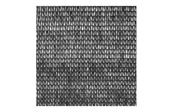 Malla sombreadora pe/rf 70% 4 x 8 m negro