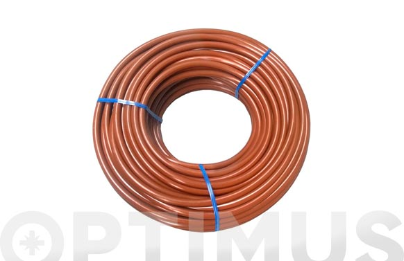 Microtubo goteo marron p-32 6,5 x 4,5 25 mt