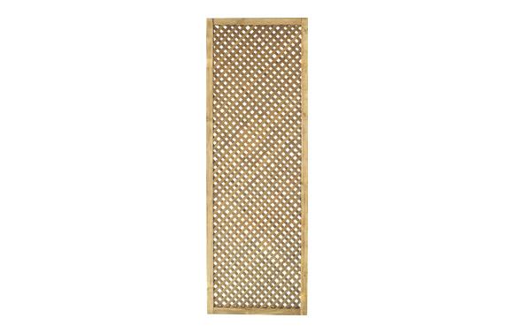 Celosia madera pino con marco 60 x 180 cm