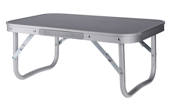 Mesa camping plegable aluminio 56 x 34 x 24,5 cm