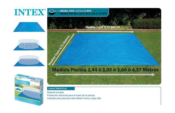 Tapiz suelo para piscinas 472 x 472 cm 28048
