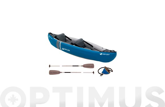 Canoa adventure kit 2 personas