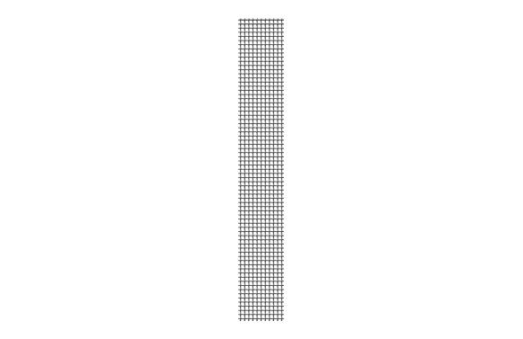 Reparación mosquitera  kit completo 5 x 100 cm antracita