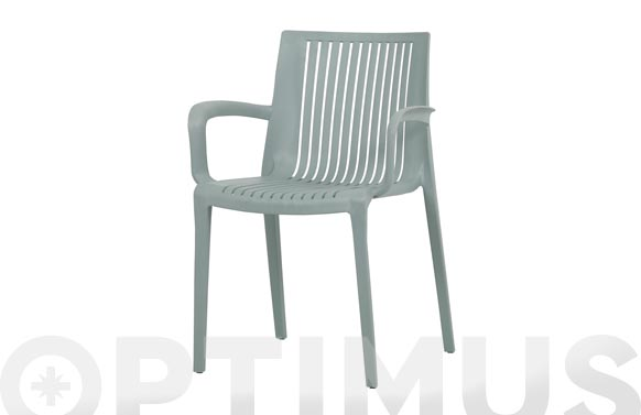 Silla polipropileno dallas verde mint